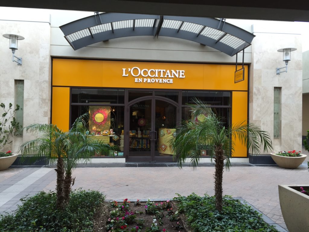 Storefront L'Occitane