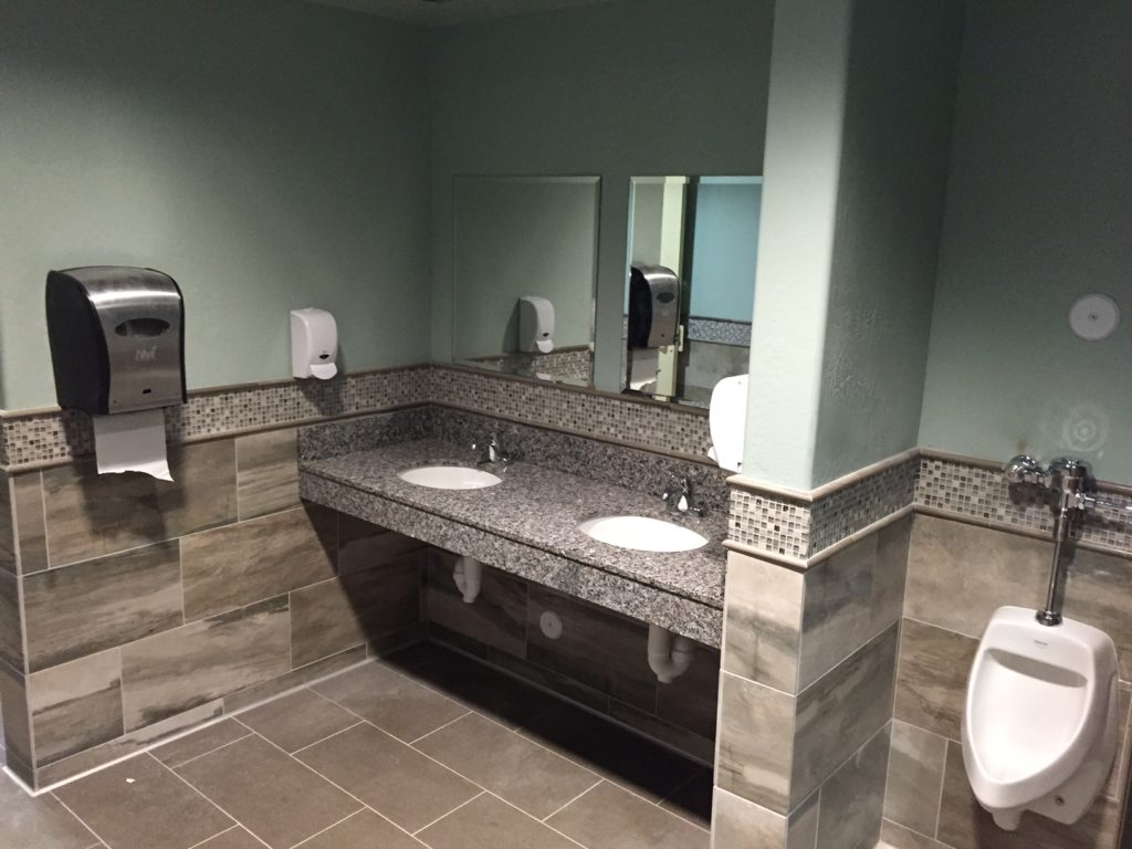 Public Restroom - Pro Club Golf Coarse