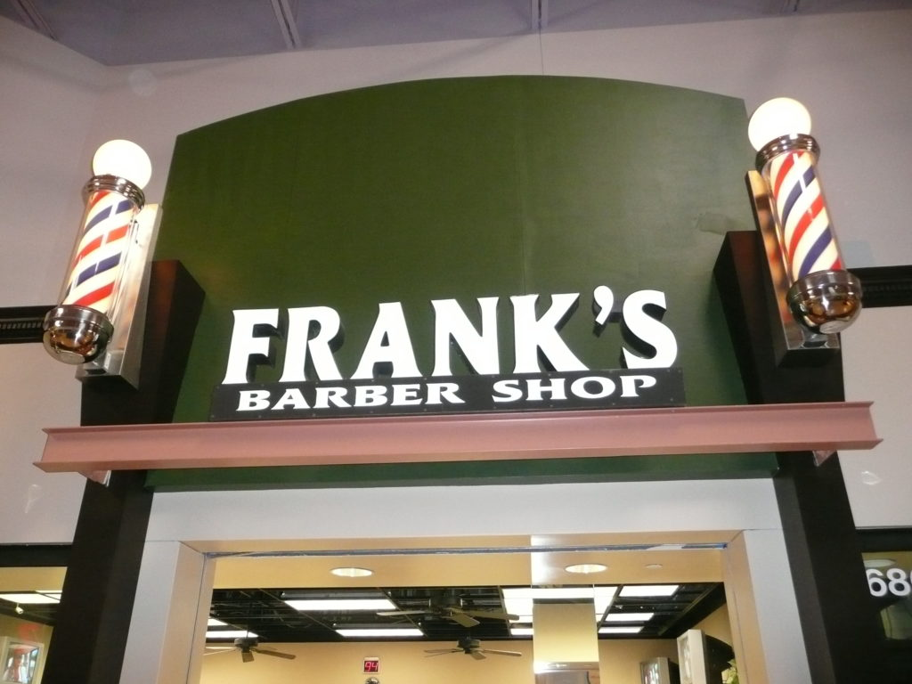 Franks Barber Shop Storefront